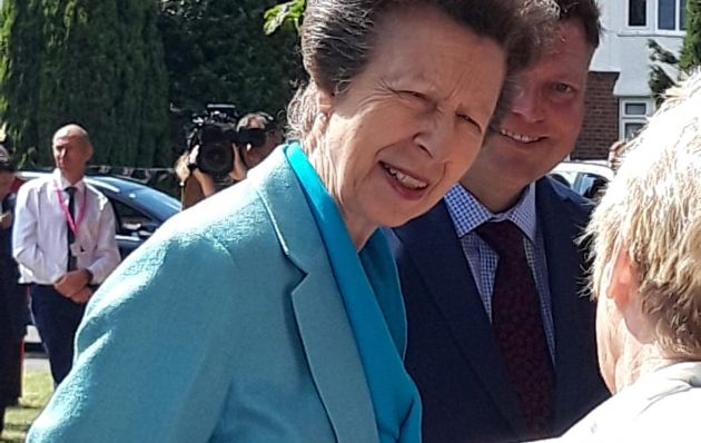 Royal Visit of HRH Princess Anne the Princess Royal